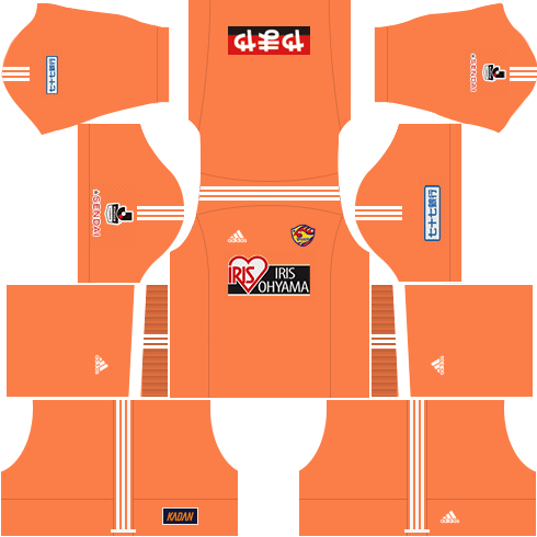 Kit-vegalta-sendai-dls-home-Gk-uniforme-goleiro-casa-18-19