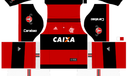 Kit Flamengo 2018 Novo Uniforme para DLS 18 – Dream League Soccer