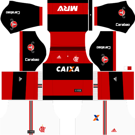Kit Flamengo 2018 para DLS 17 - Dream League Soccer