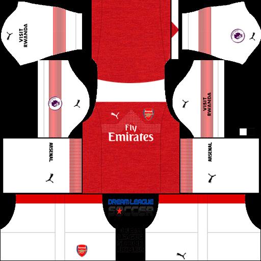 kit-Arsenal-dls-home-uniforme-casa-18-19