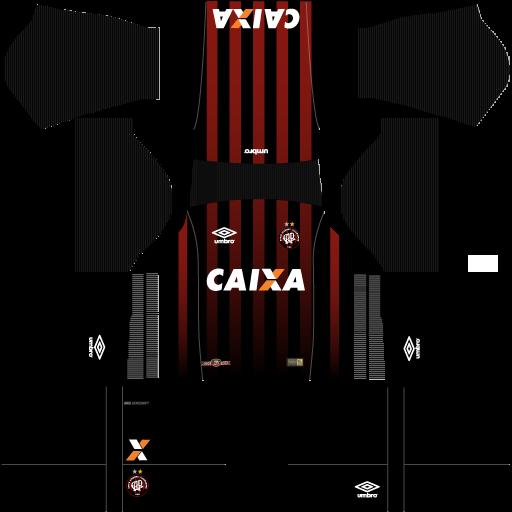 kit-Atlético-PR-dls17-uniforme-casa-17-18