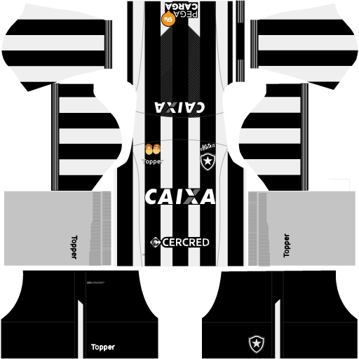 kit-Botafogo-DLS 19-home-uniforme-casa-18-19