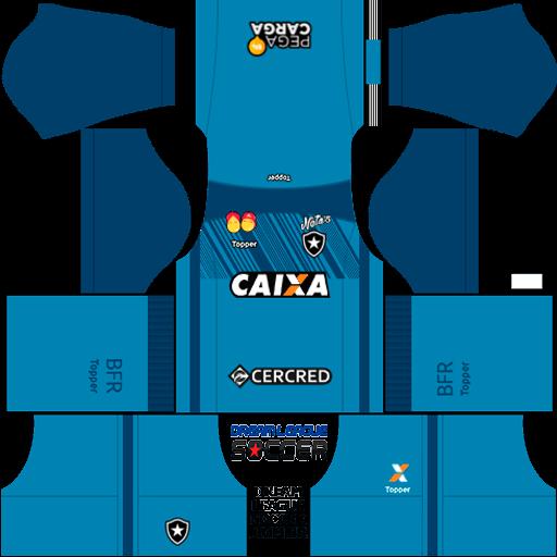 kit-Botafogo-dls-home-Gk-uniforme-goleiro-casa-18-19
