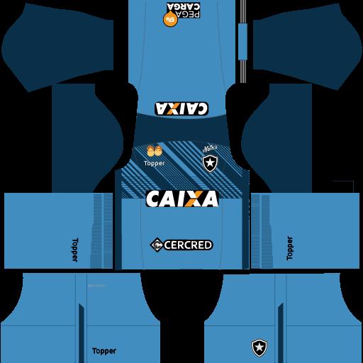 kit-Botafogo-dls18-home-Gk-uniforme-goleiro-casa-18-19