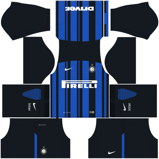 kit-Internazionale-Milano---inter-de-milão-DLS 19-home---uniforme-casa
