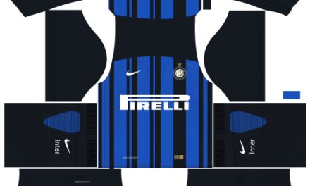 Kit Inter de Milão 2018 Novo Uniforme para DLS 18 – Dream League Soccer