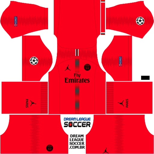 7dde113d0a0 kit-PSG-dls18-away-Gk-liga-dos-campeoes-. Duvidas de como adicionar os kits  no DREAM LEAGUE SOCCER 2019