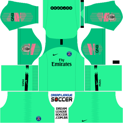 kit-PSG-dls18-home-Gk-uniforme-goleiro-casa-18-19