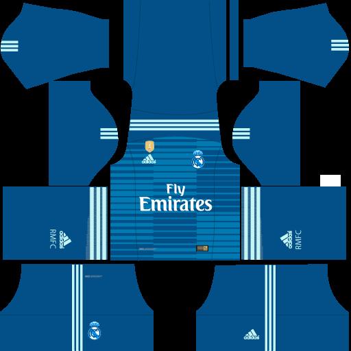 reputable site 8b31a ec970 Kit Real Madrid para Dream League Soccer 19 atualize seu ...