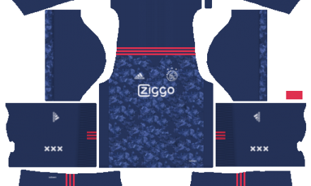 Kit Ajax Amsterdam 2018 novo uniforme para DLS 18 – Dream League Soccer
