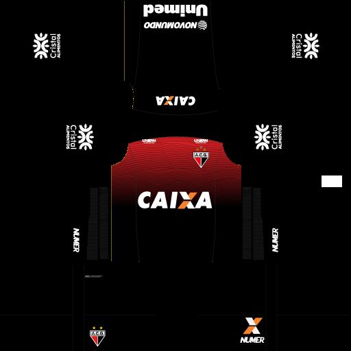kit-atletico-go-dls-pré-jogo-uniforme-pré-jogo-18-19