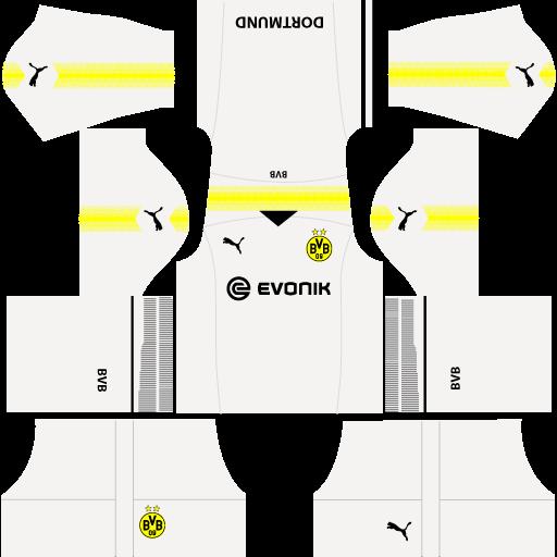 kit-borussia-Dortmund-dls18-away-Gk--uniforme-goleiro-fora-de-casa-17-18