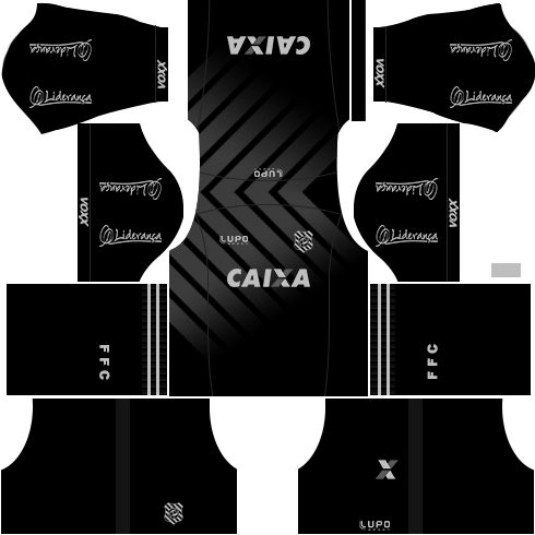 kit figueirense dls17 uniforme alternativo 16-17