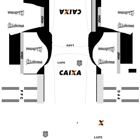kit figueirense dls17 uniforme fora de casa 16-17
