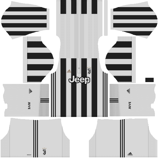 kit juventus dls17 uniforme casa 17-18