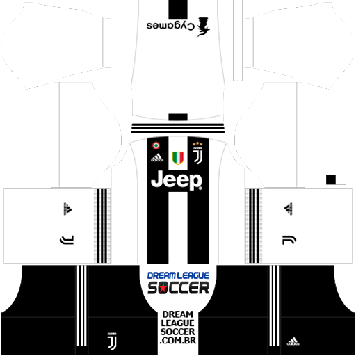 Kit Juventus 2018/2019 Dream League Soccer kits URL 512×512 dls 2019