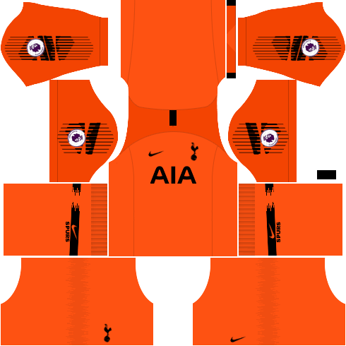kit-tottenham-dls-away-Gk-uniforme-goleiro-fora-de-casa-18-19
