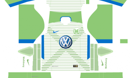 Kit Wolfsburg 2018 Novo Uniforme para DLS 18 – Dream League Soccer
